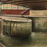 Thames Lock, Brentford, 2015 Yang Yuxin