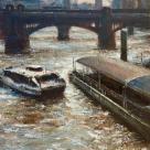 Bankside Pier, Thames. 2019. Yang Yuxin