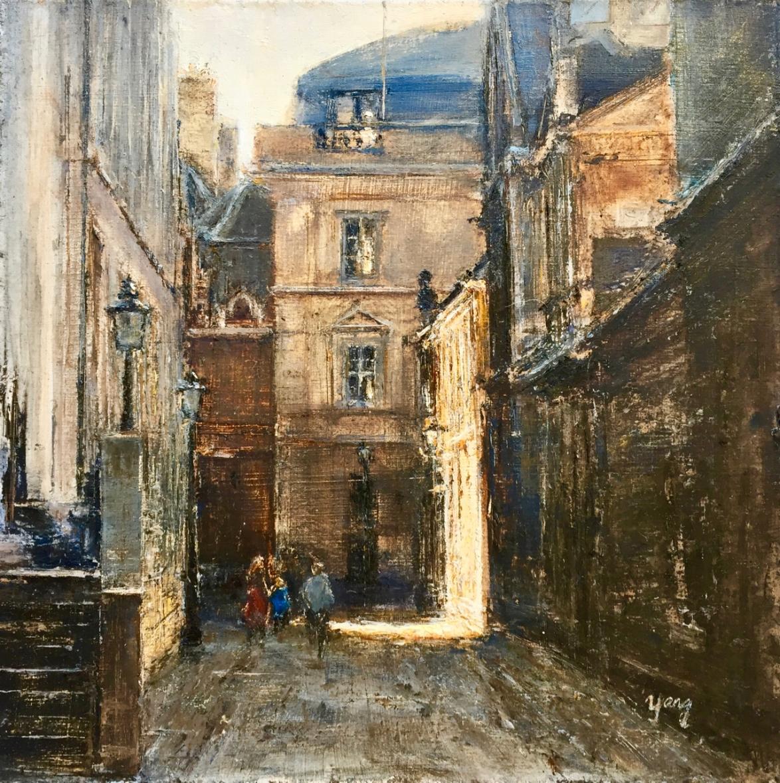 Cambridge Sketches: Senate House Passage. 2019. Yang Yuxin